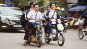 Hạ hạnh kiểm học sinh không đội mũ bảo hiểm
