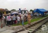 Hà Nam: Đi ăn cỗ về, 2 người đàn ông bị tàu hỏa đâm tử vong