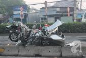 TPHCM: Tai nạn giao thông thảm khốc, 5 người trong một gia đình thiệt mạng