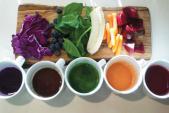 Mẹo tạo màu sắc cho món ăn