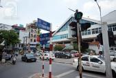 Khổ sở vì đèn tín hiệu giao thông nút ngã tư Bạch Mai – Lê Thanh Nghị
