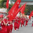 Nhãn hàng trà thảo mộc Dr Thanh cùng Hành trình đỏ 2014 đến Kiên Giang