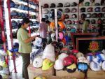 Danh sách các loại mũ bảo hiểm không đảm bảo chất lượng
