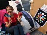 Cảnh xếp hàng chờ mua iPhone 6 trên thế giới