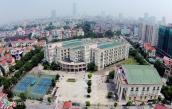 Ngôi trường 500 tỷ kiểu Tây của học sinh Hà Nội