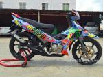Xế nổ Yamaha Z rực rỡ có 1-0-2 ở Kiên Giang