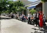 Dàn Honda SH hộ tống Cadillac đi rước dâu ở Đà Nẵng