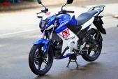 Yamaha FZ150i sơn xanh GP lạ mắt tại Sài Gòn