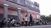 60 môtô Harley-Davidson diễu hành rầm rộ ở Sài Gòn