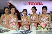 Dàn mỹ nhân hội tụ tại triển lãm ô tô Indonesia