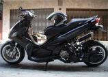 """""""Sát thủ"""" Yamaha Nouvo đen bí ẩn, cực hầm hố"""