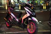 Xem Yamaha Mio phối màu hồng cực xì tin, cá tính