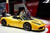 Cận cảnh siêu xe Ferrari 458 Speciale Aperta