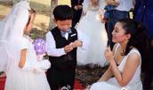 """12 cặp trẻ em làm """"đám cưới"""" gây xôn xao TQ"""