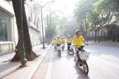 Hàng trăm xe đạp điện AMBIKE đồng loạt xuất hiện trên phố