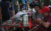 Phiên chợ đồ cổ giữa trung tâm Hà Nội