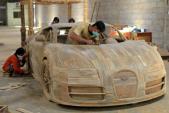 """Mãn nhãn """"siêu xe"""" Bugatti Veyron của người Indonesia"""
