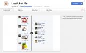 Cách ẩn sticker khó chịu trong bình luận Facebook trên Chrome, Firefox