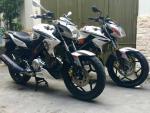 Cặp đôi Yamaha FZ150i độ long lanh ở Sài Gòn