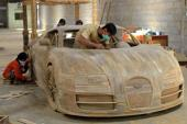 Bugatti Veyron làm từ gỗ giá 3.300 USD