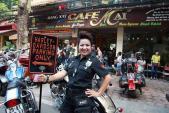 Dàn Harley-Davidson hầm hố xôm tụ mừng nữ biker HN