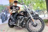Harley-Davidson độc giá 1,4 tỷ của dân chơi Hà thành