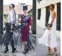 Tự may clucth tua rua đang khiến các fashionista mê đắm