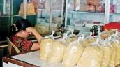 Ruốc thịt giá rẻ làm từ chất lạ chưa thể xác định