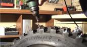 Cách làm lốp xe để chạy được trên tuyết