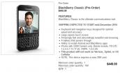 BlackBerry Classic giá bán 9,5 triệu đồng, đặt trước từ hôm nay