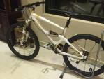 Chiêm ngưỡng xe đạp mạ vàng cực hiếm của đại gia Quảng Ninh