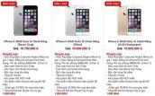 Giá iPhone 6 xách tay giảm mạnh ngay khi hàng chính hãng bán ra