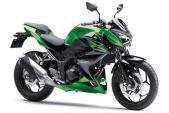 """Kawasaki Z300 - """"Đàn em"""" của Z1000"""