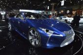 Lexus LF-LC lộ chi tiết long lanh khó cưỡng