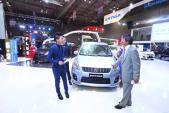 Việt Nam Suzuki giới thiệu mẫu xe Ertiga mới tại Motorshow 2014