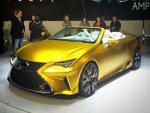 Lexus LF-C2: Vàng óng ả, đẹp kiêu sa