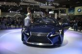 Chiêm ngưỡng concept LF-LC tuyệt đẹp của Lexus tại VMS 2014
