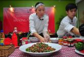 Đầu bếp nổi tiếng Peru trổ tài ở Hà Nội