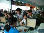 Mua vé tàu dịp Tết trực tuyến qua Smartlink và Vietcombank