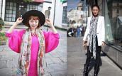 07 kiểu thắt khăn choàng cực chất từ fashionista châu Á