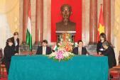 Việt Nam ký kết thỏa thuận hợp tác CNTT-TT với Hungary