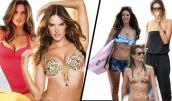 Hé lộ đường cong thật của 10 nữ thần Victoria Secret