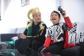 """Hoàng Bách tích cực chuẩn bị cho lễ hội Comiccon """"Nhí"""""""