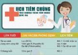 Lịch tiêm chủng quốc gia mới nhất cho trẻ sơ sinh