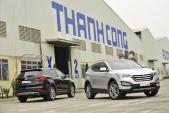 Hyundai Thành Công ra mắt SantaFe lắp ráp trong nước