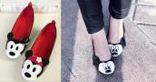 3 cách trang trí giày hình chuột thật đáng yêu
