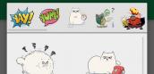 Google Hangouts cho Android có thêm sticker, gợi ý thông minh