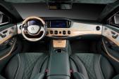 Mercedes-Benz S600 Guard chống đạn nội thất đậm chất Trung Đông