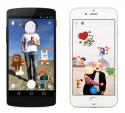 Facebook Messenger ra ứng dụng cho gán sticker vào ảnh chụp