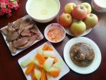 Bữa cơm chiều hấp dẫn với thịt đông
